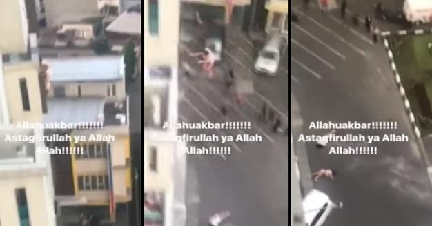 Video 2 Beradik 8unuh Diri Terjun 'Kuak Lentang' Dari Tingkat 7 Tular Di Media Sosial