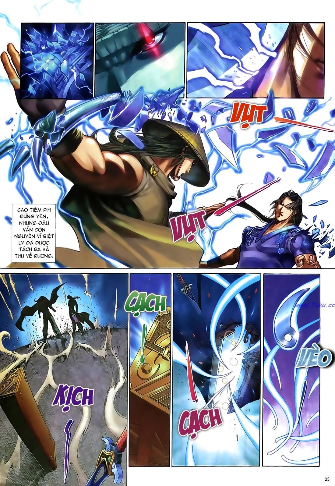 Anh hùng vô lệ Chap 21 trang 24