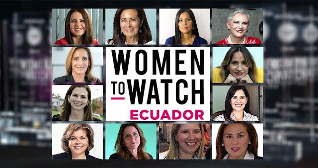 Tres graduadas de la USFQ son seleccionadas en Women To Watch