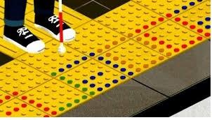 suelo del japonés Seiichi miyake para indicar los obstáculos