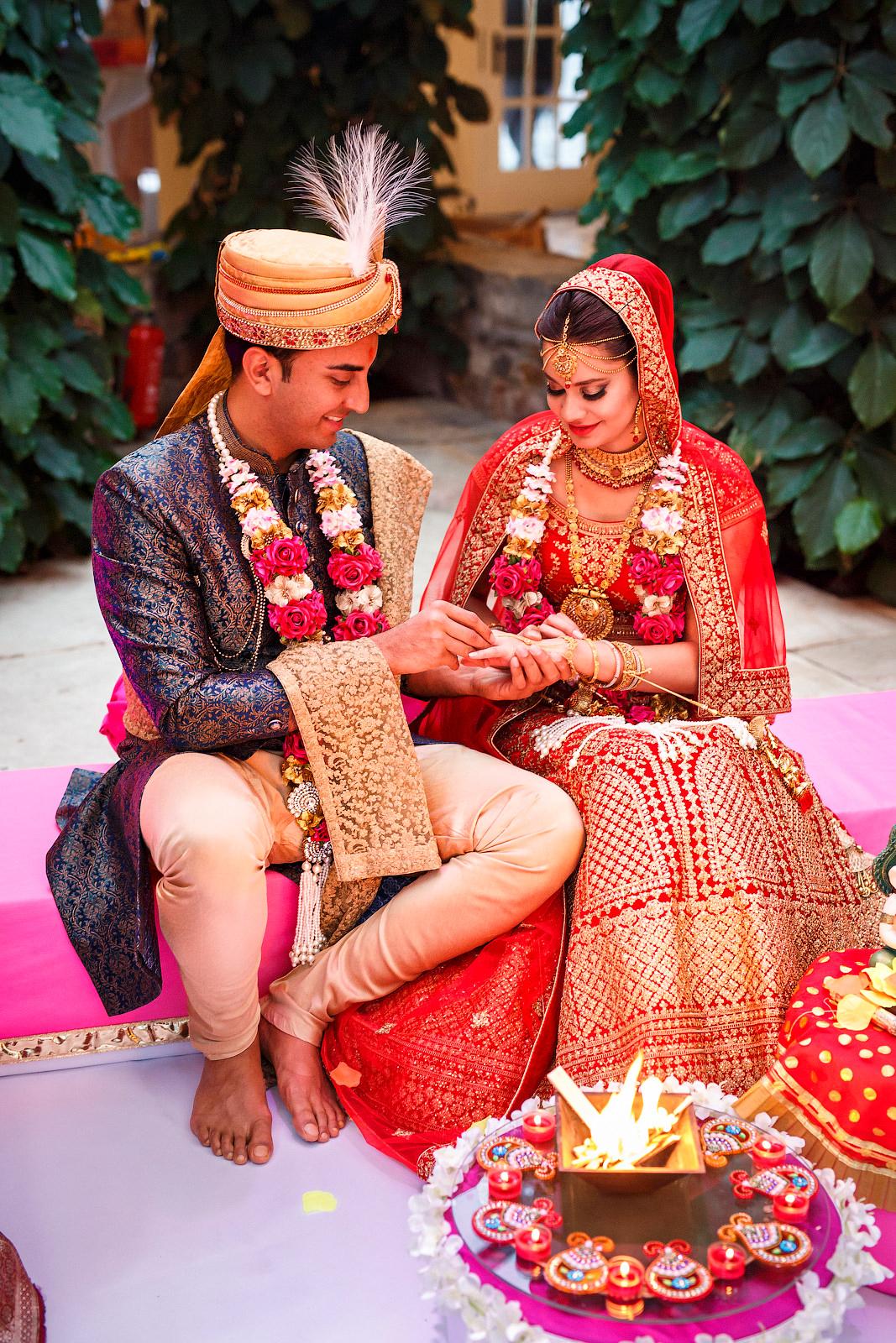 Indische Hochzeit im Klostergut Besselich