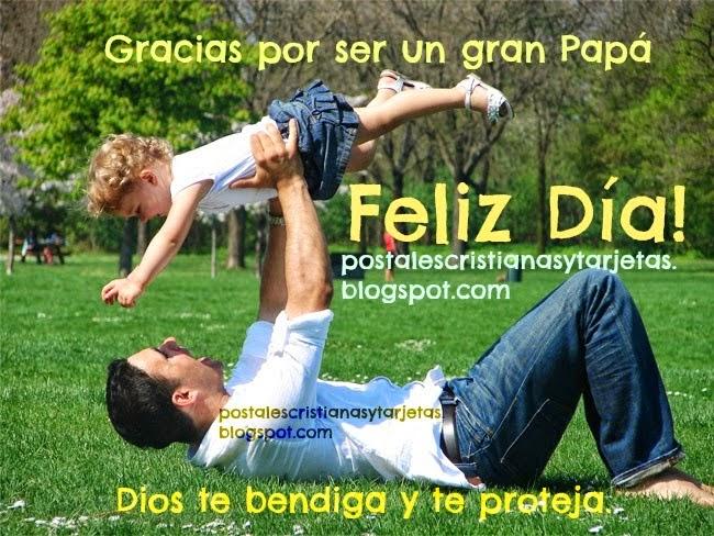 Feliz Día del Padre 2014 Imágenes y Frases Cristianas para papá. gracias. Foto padre e hija