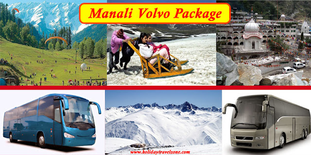 Manali Volvo Package @ INR 5599/- Per Person