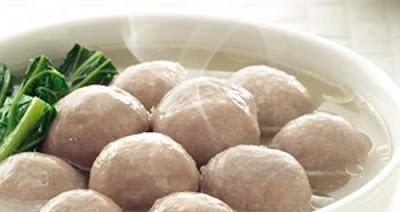 bakso jamur udang