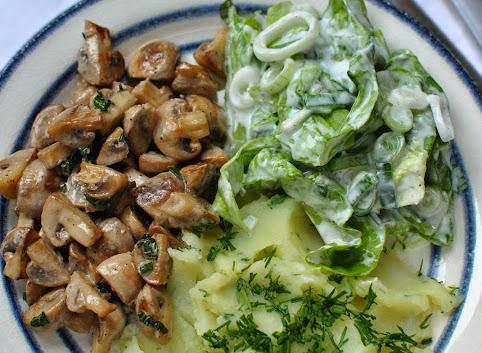 Na niedzielny obiad - purée ziemniaczane z kalarepą