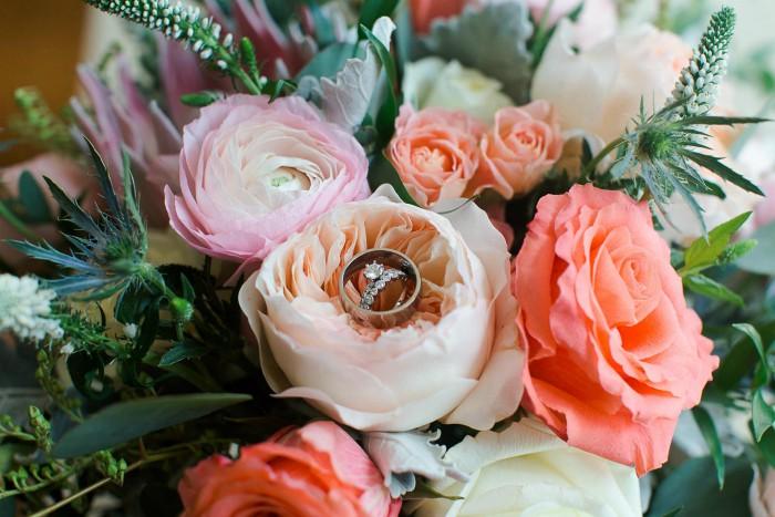 Rings & flowers