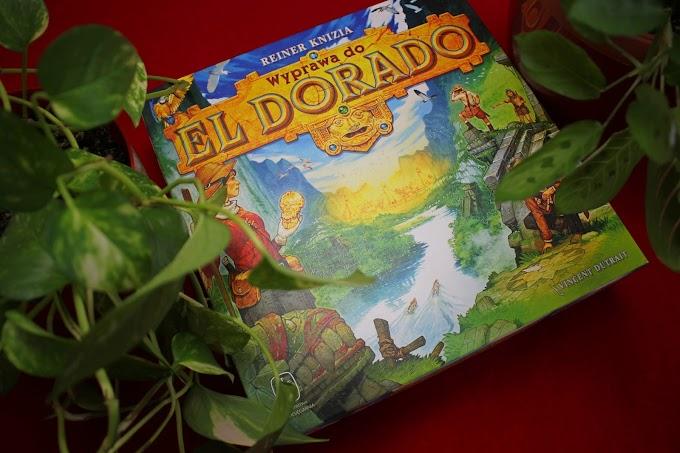 Wyprawa do El Dorado - recenzja barwnego wyścigu odkrywców! Kto pierwszy dotrze do Złotego Miasta?