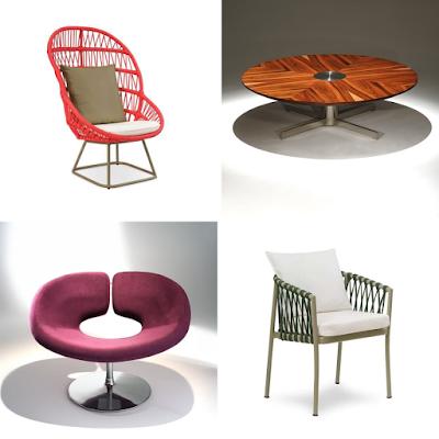 Móveis minimalista, sofá, decoração
