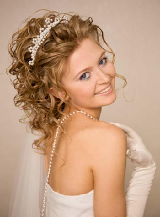 Admirable Wedding Hairstyles For Curly Hair 2015 Stylish Medium Prom Short Hairstyles Gunalazisus