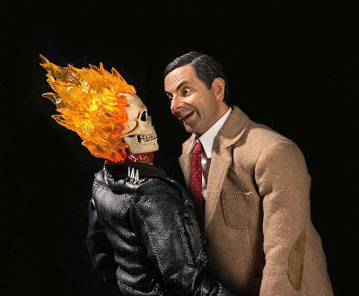 Ghost Rider y Mr. Bean