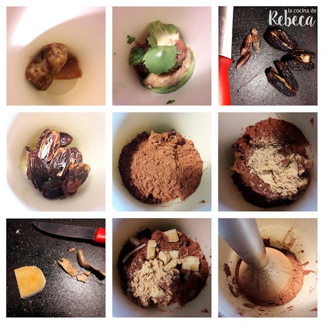 Receta de mousse de chocolate vegana sin azúcar 01