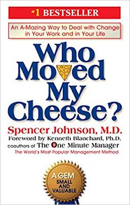 من الذي حرك قطعة الجبن الخاصة بي؟