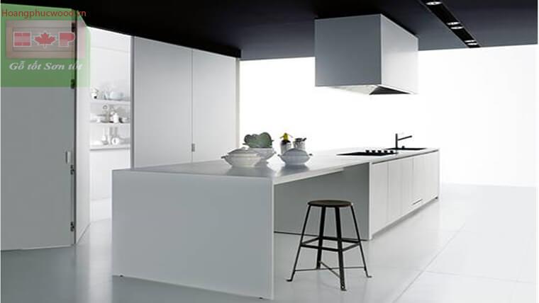 Thiết kế phòng bếp mẫu chữ I