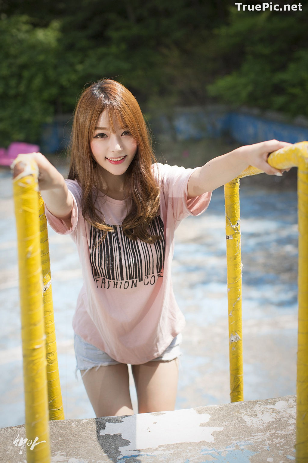 Image Korean Cute Model - Ji Yeon - You Can Follow Me - TruePic.net - Picture-1