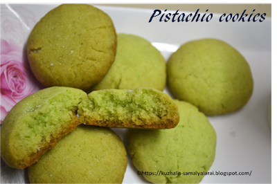 PISTACHIO COOKIES - ONLY 3 INGREDIENTS( WITH VIDEO)