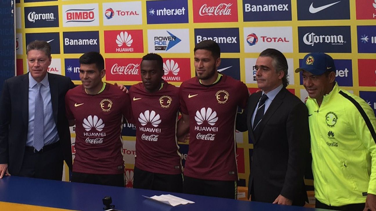 América presenta a sus nuevos refuerzos para el Apertura 2016
