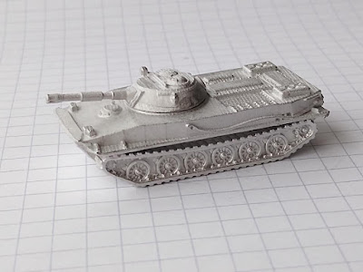 Soviet Pt-76 Amphibious Tank