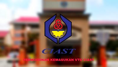 Permohonan VTO CIAST 2020 Online