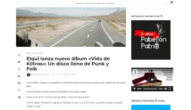 ANTOFAPOP: ''UN DISCO LLENO DE PUNK Y FOLK''