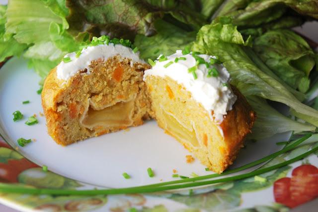 Muffins carottes brebis