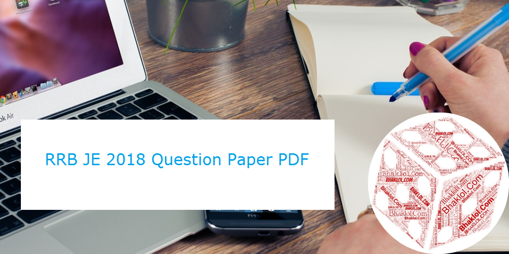 RRB JE 2018 Question Paper   English & Hindi   Download 39