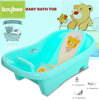 Babybee Amdia Multistage Bath tub New born to 18 month