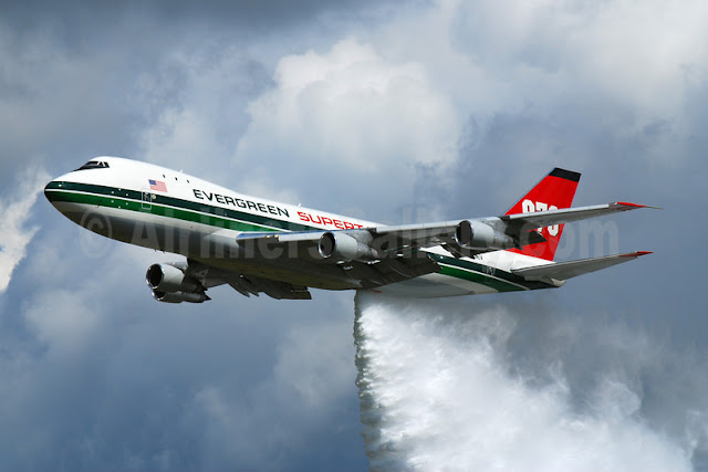 Evergreen Airlines Boeing 747 aircraft of World's Largest ...