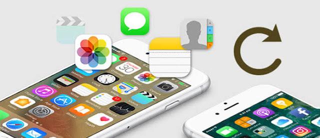 Cara memulihkan data atau restore Iphone