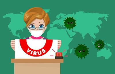 Cara Penularan Virus Corona