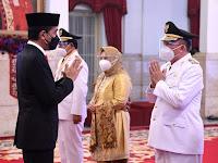Presiden Lantik Gubernur dan Wakil Gubernur Kalimantan Selatan Masa Jabatan 2021-2024