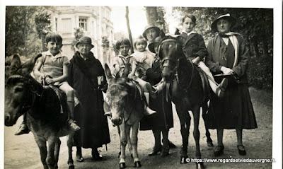Les ânes de La Bourboule