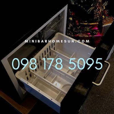 Tủ mát minibar Homesun BCH-45 chuyên dụng cho khách sạn