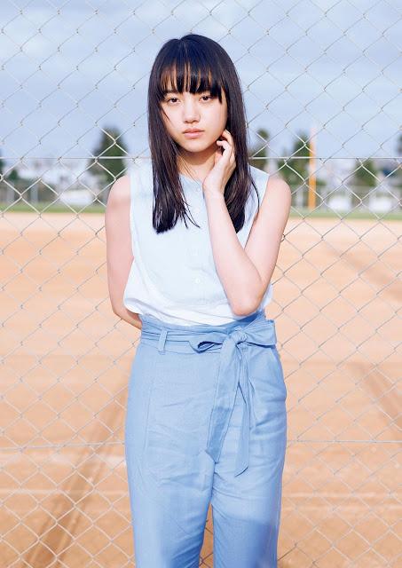 Kiyohara Kaya 清原果耶 Weekly Playboy No 18 2017 Pics