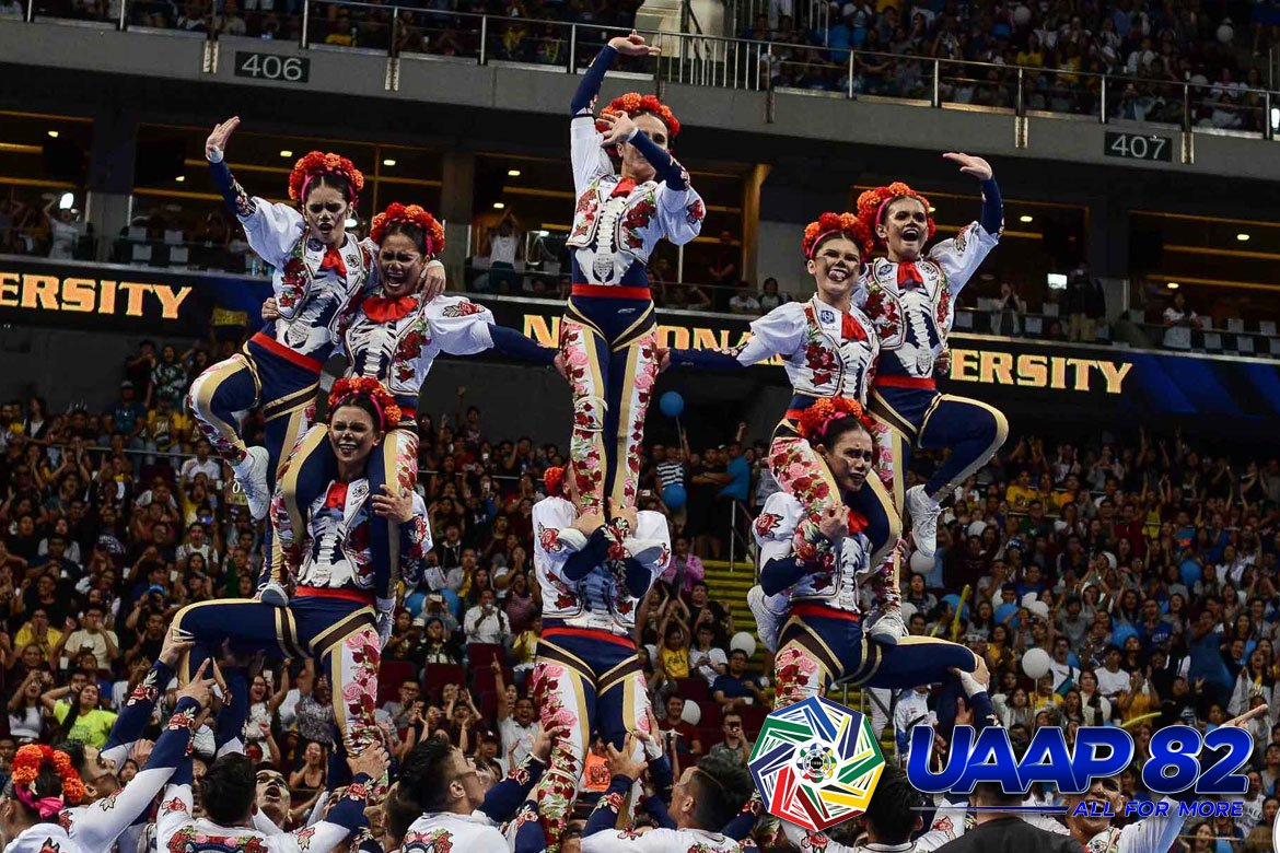 The NU Pep Squad hopes for back-to-back wins.