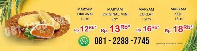 Agen Distributor Roti Maryam