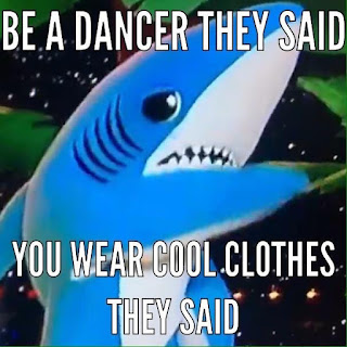 Left Shark, a meme at Katy Perry's expense