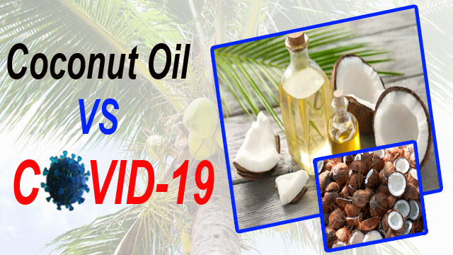 coconut oil vs covid-19
