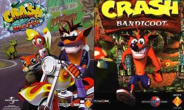 all-best-psp-games-download: Crash Bandicoot 1 + 2 Cortex