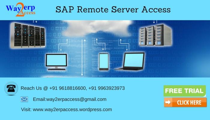 SAP Server Access: SAP IDES, Non-IDES Online Server Access