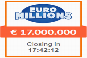#EuroMillions 118 million and rain of millions: odds, clubs