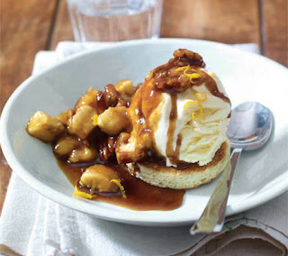 pecan and orange bananas foster recipe