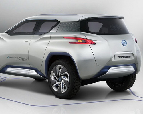 www.Tinuku.com Nissan TeRRA electric SUV the luxury eco-friendly more concrete in the Guangzhou Auto Show 2016