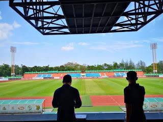 ปรับฮวงจุ้ย ณ 'สามอ่าวสเตเดียม' สนามเหย้าของสโมสรฟุตบอลพีที ประจวบ