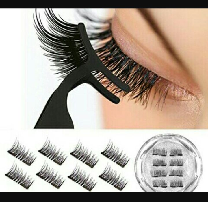 Ladies Eyelashes: Women's Reusable 3D Extensions - Vassoul