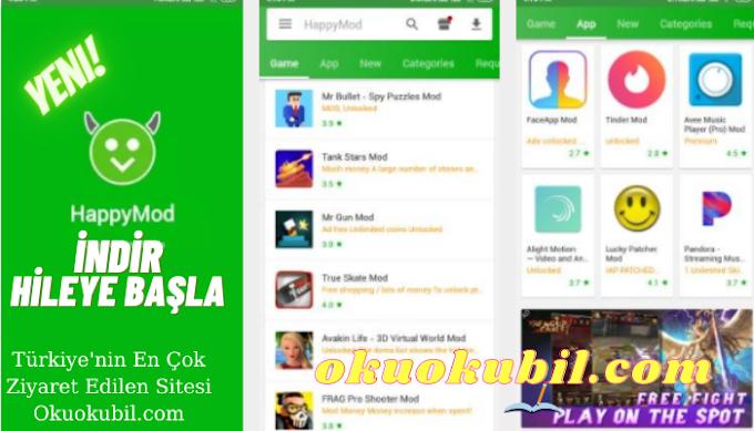 HappyMod 2.6.3 Hile ve Tüm Android uygulamaları İçin APK Son Sürüm