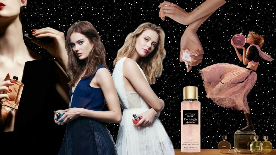 Perfumes, colonias, body mist y cómo diferenciarlos