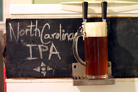 A big mug of North Carolina IPA!