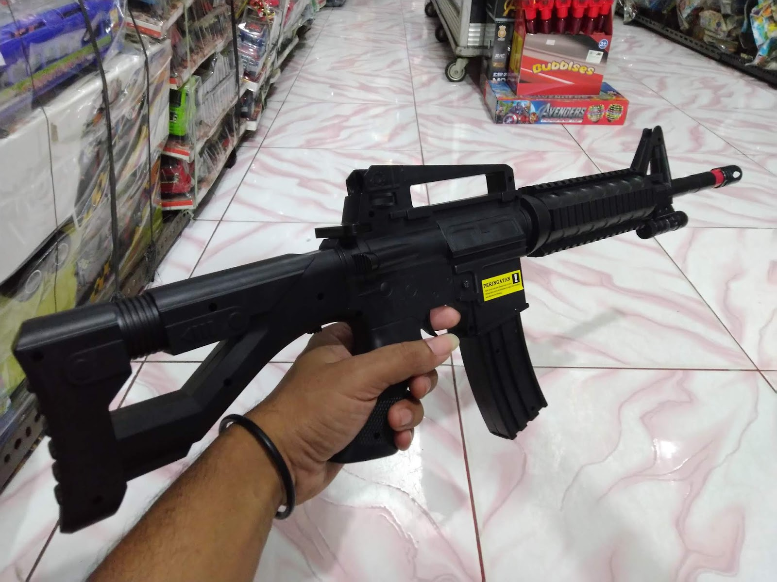 Unit Airsoftgun Spring Cobra M16 - Bang Izal Toy