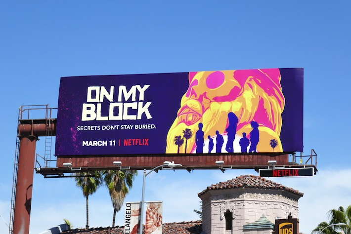 On My Block season 3 billboard