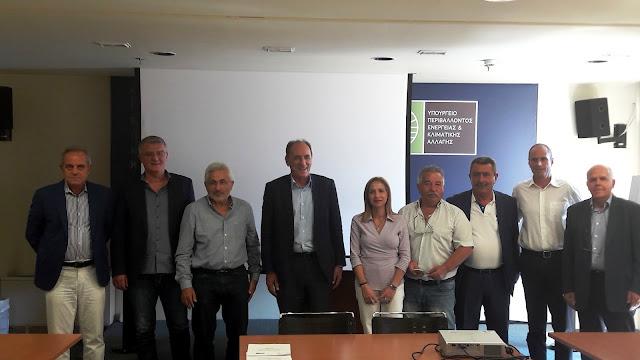 Σύσκεψη για τις κατεδαφίσεις αυθαιρέτων στο Υπουργείο Περιβάλλοντος
